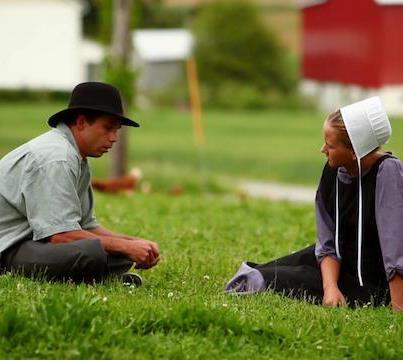 Bed dating amish